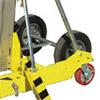10inch rough tarrain wheels on Sumner contractor lift