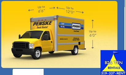 12 foot Penske truck