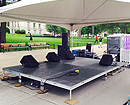 12' x 16' stage