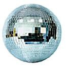 20 inch mirrored disco ball