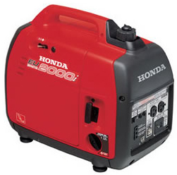 2,000 Watt portable generator for rent at Big Ten Rentals.