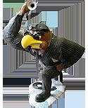 2004 jazz Herky the Hawk