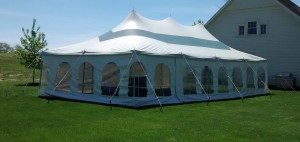 20ft X 40ft Rope Amp Pole Event Tent Rental Elite