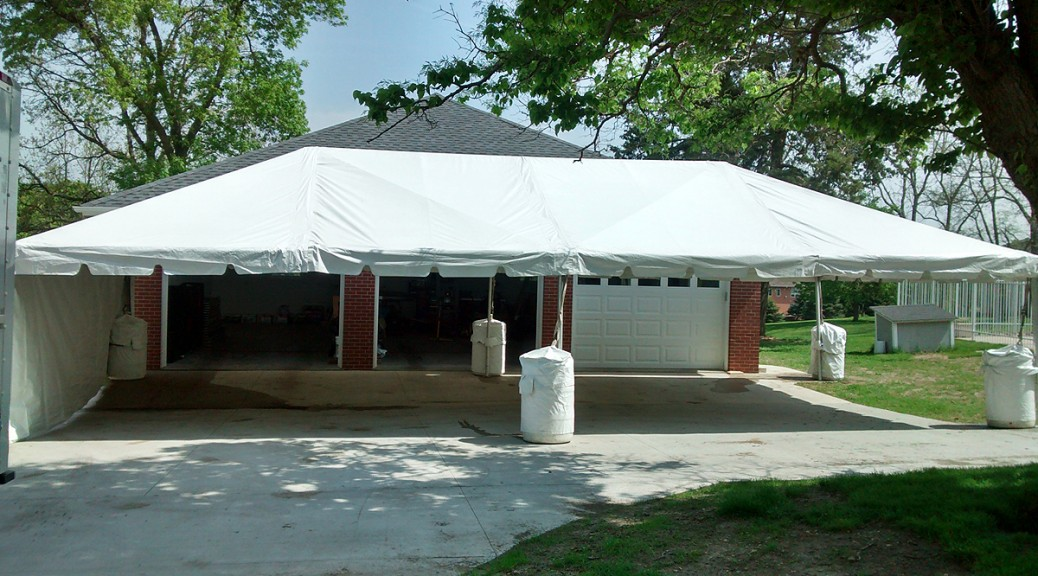 20\' x 40\' Frame Event Tent Rental in Iowa | Temporary Structure