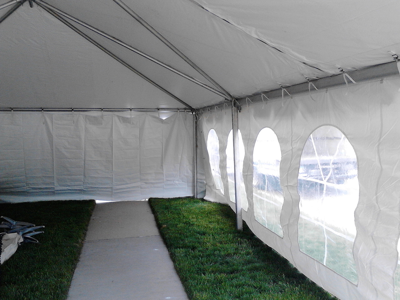 20u2032 x 40u2032 frame tent with french windows and solid sidewalls & 20u0027 x 40u0027 Frame Event Tent Rental in Iowa | Temporary Structure