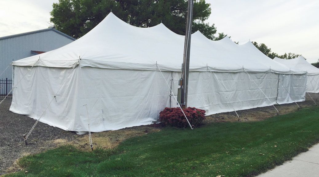 20 X 60 Rope Amp Pole Tent Rental Iowa City Cedar