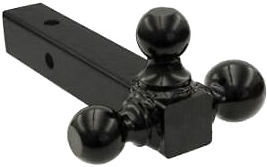 We rent a triball trailer hitch if you don't have one that fits.