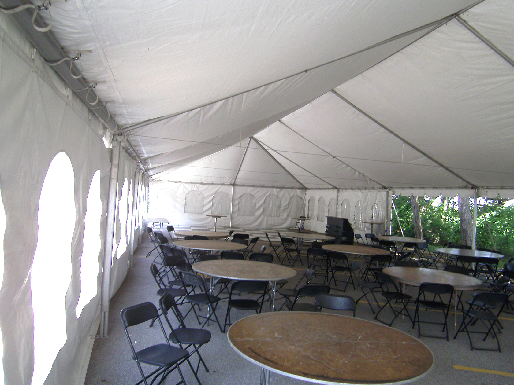 Are Clear tents rentals??