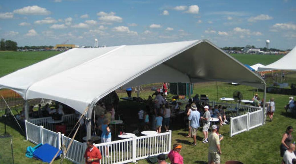 40u0027 x 40u0027 clearspan tent ... & 40u0027 x 40u0027 clearspan event tent/structure rental: IA IL MO u0026 WI