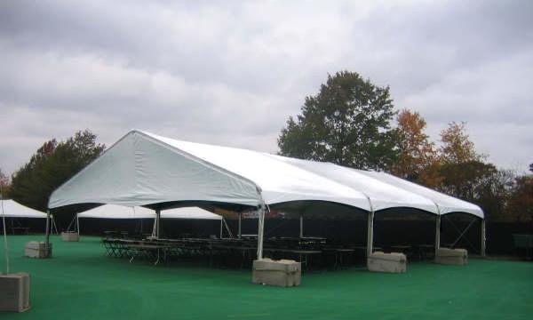 40ft X 60ft Clearspan Tent Iowa City Cedar Rapids