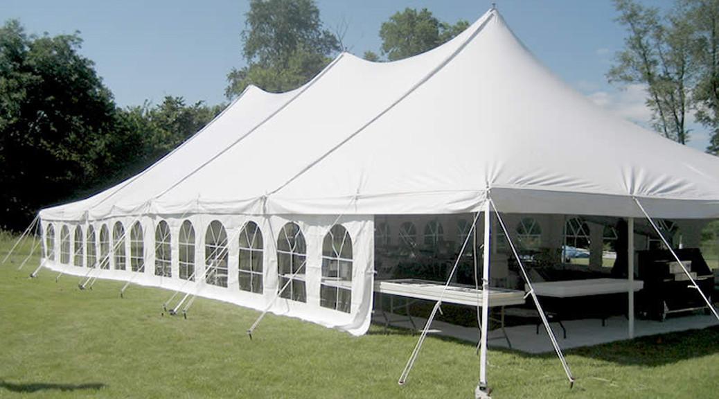 Elite 40 X80 Rope Amp Pole Tent Rental Iowa City Cedar Rapids