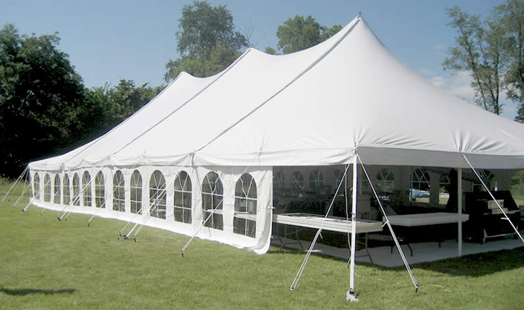 Elite 40 X80 Rope Amp Pole Tent Rental Iowa City Cedar Rapids