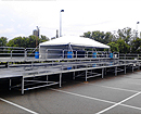 44' x 88' Multi-tiered Stage Rental