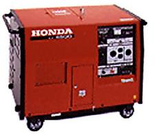 4,500 Watt portable generator for rent at Big Ten Rentals.