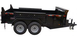 6' x 12' Tandem Axle Dump Trailer for rent [5970]