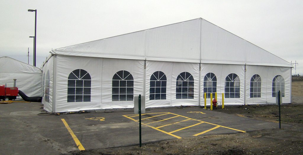 18m X 20m Clearspan Event Structure Tent Rental Ia Il