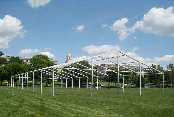 Losberger Clearspan Tent Rental & 60u0027 x 146u0027 Clearspan Event Structure Rental in IA IL MO WI