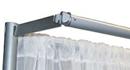 6' pipe and drape valance hanger rental