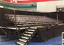 7 row expandable bleachers