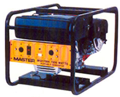 7,000 Watt portable generator for rent at Big Ten Rentals.