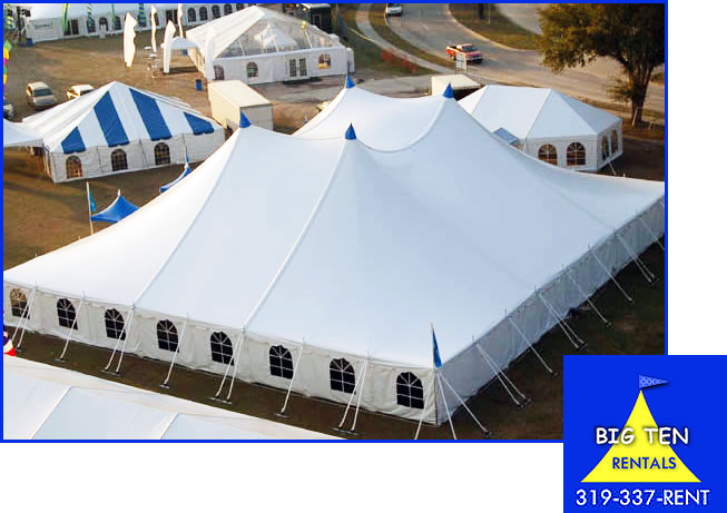 large event tent. 80' x 90'
