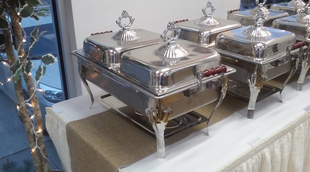 Classic chafing pans