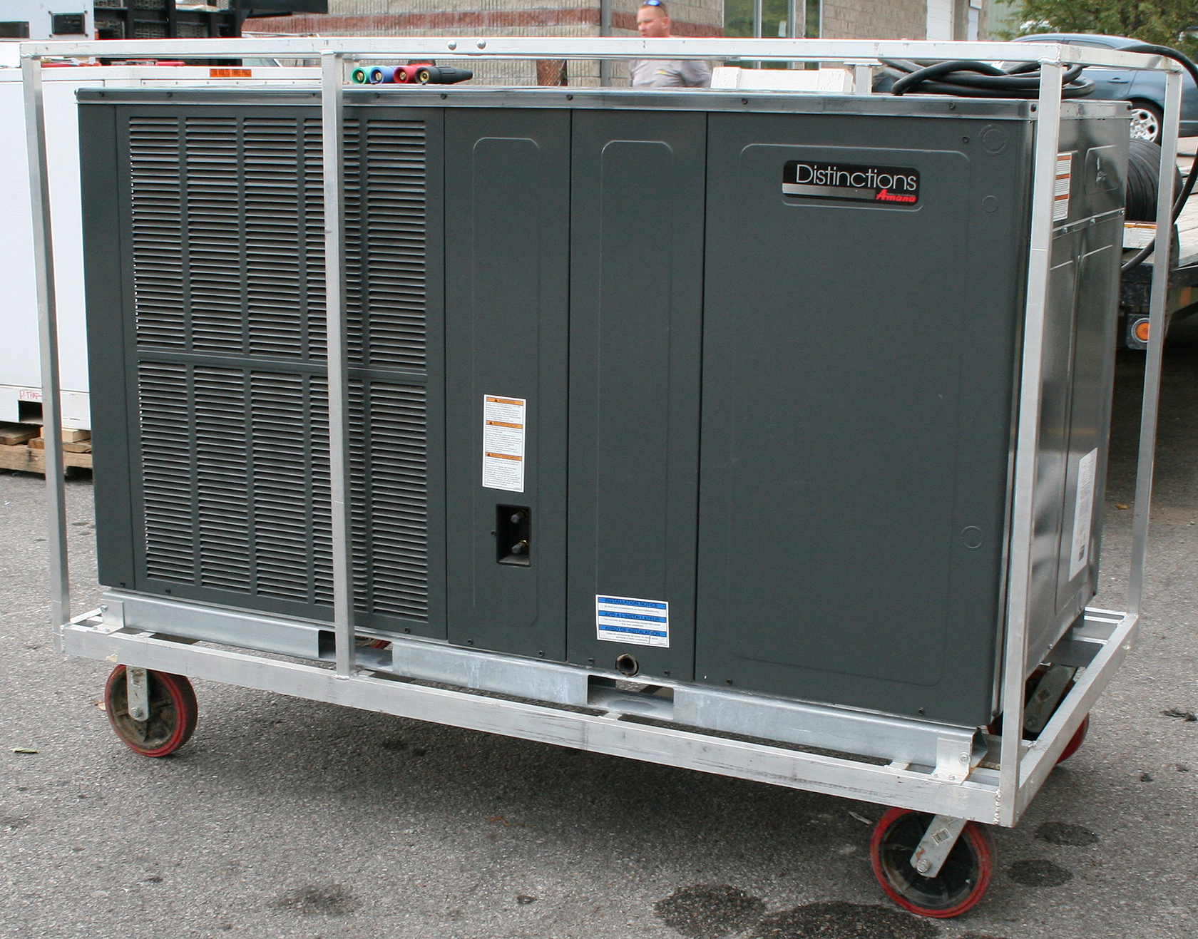 mobile 5 ton air conditioning unit rental: events + emergencies