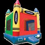 Crayonland bounce house rental in Iowa City cedar rapids