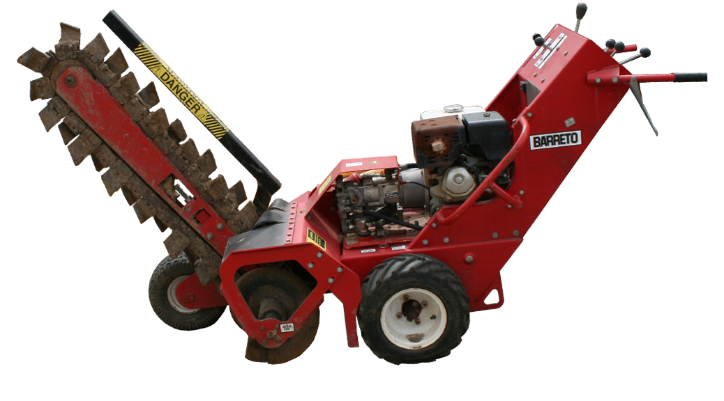 Gas Powered Trencher Or Ditch Witch Rental Iowa City