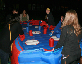 Hose Hockey inflatable game