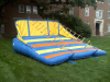 Inflatable rope ladder climb game
