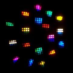 Mania EF3 motorized dance light patterns.