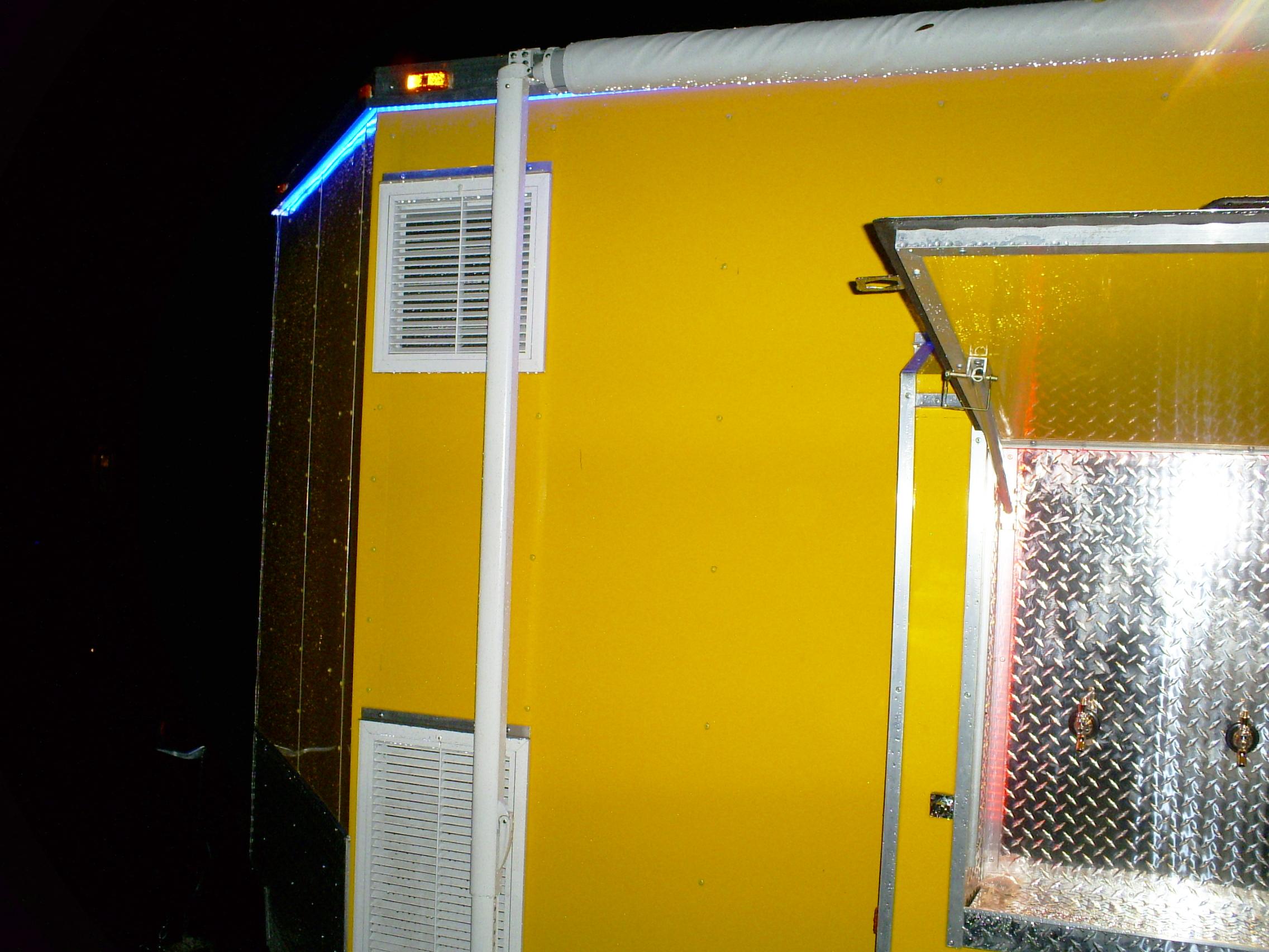 6 Tap 30 Keg Refrigerated Beer Trailer Rental Iowa Dispensers