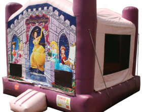 Princess Palace bounce house rental in Iowa City