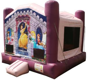 Princess Palace bounce house rental in Iowa City