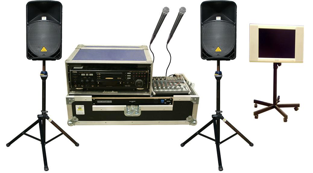 Professional Karaoke Equipment Rental Iowa Pro Audio Quality