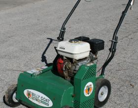 Rent a power rake dethatcher
