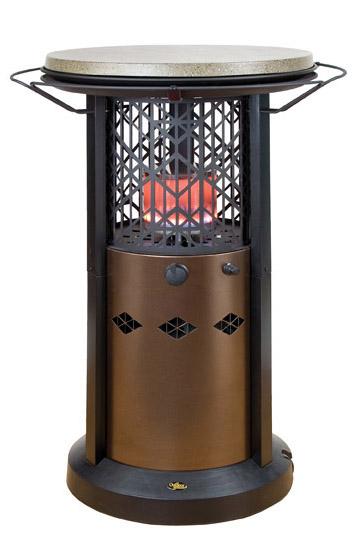 Table Cocktail Radiant Propane Heater Rental Ic Cr Qc Ia