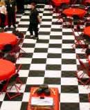 SnapLock Checkerboard Dance Floor (3'x3')