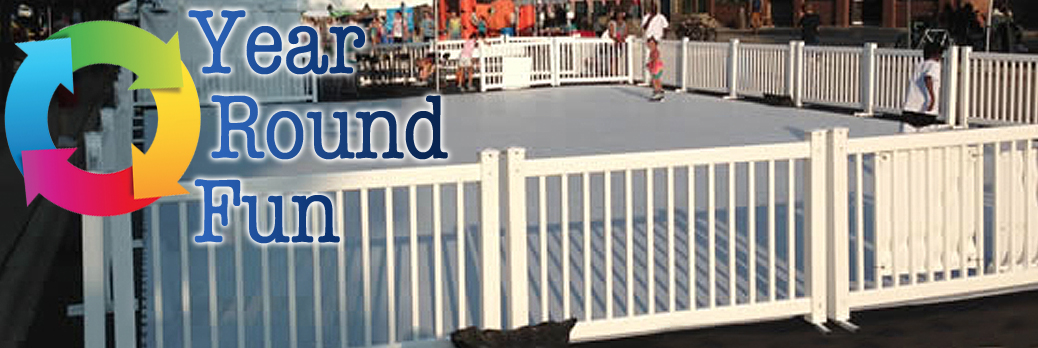"Synthetic Ice Skating Rink Rental ""Year Round Fun"""