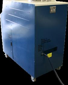 3/4 back of the Kwikool A/C unit model KIB6021.