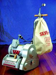 Picture of our Essex Silver Line belt drum floor sander.