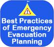 Best practices of emergency evacuation planning