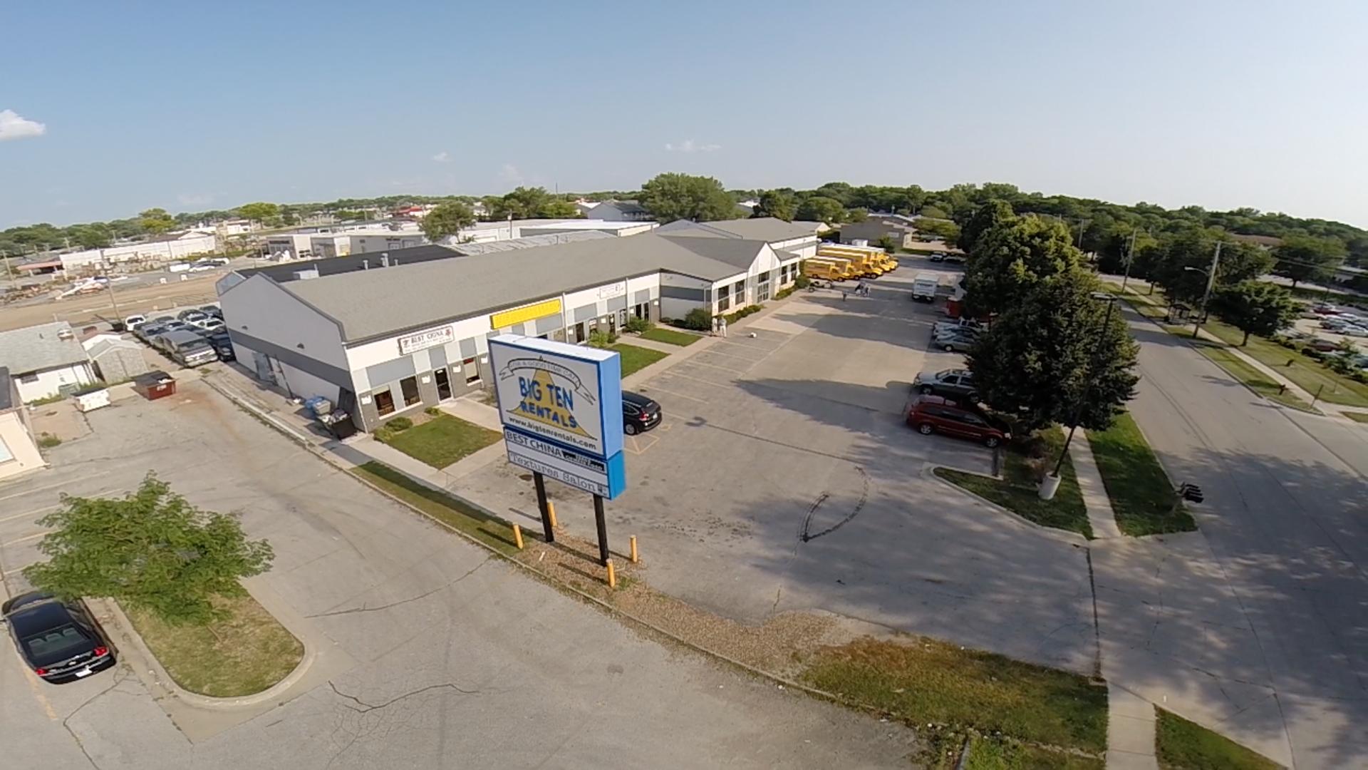 Aerial View Of Big Ten Rentals Iowa City Cedar Rapids
