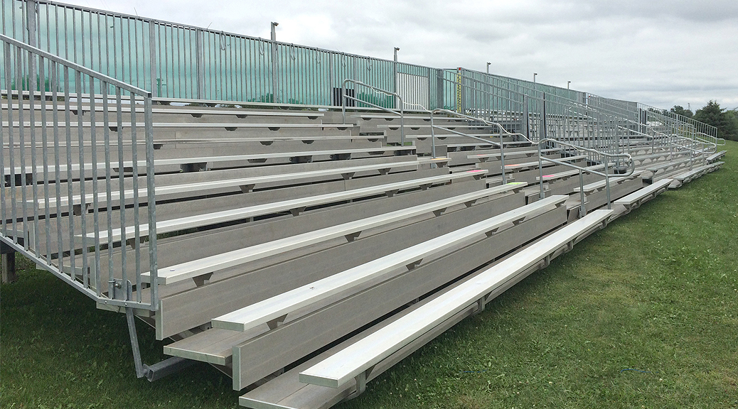 temporary portable aluminum bleacher rentals  u0026 towable grandstands
