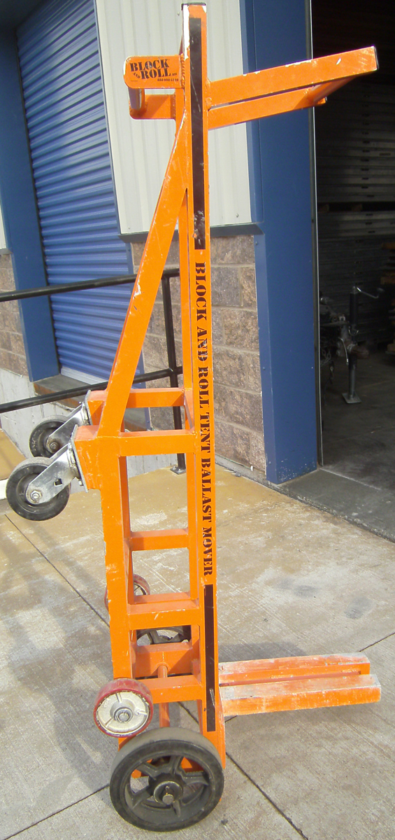 Block and Roll Tent Ballast Mover & Block and Roll Tent Ballast Mover Rental - Iowa City Cedar Rapids ...