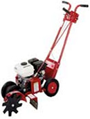 Rent our mini front tine chain driven tiller.