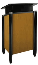 Rent our debate lectern for your next Ceremony or Presentation.