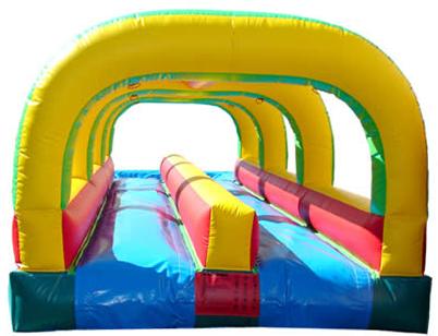 Rent Dual Lane Slip N Slide Inflatable With Splash Pool