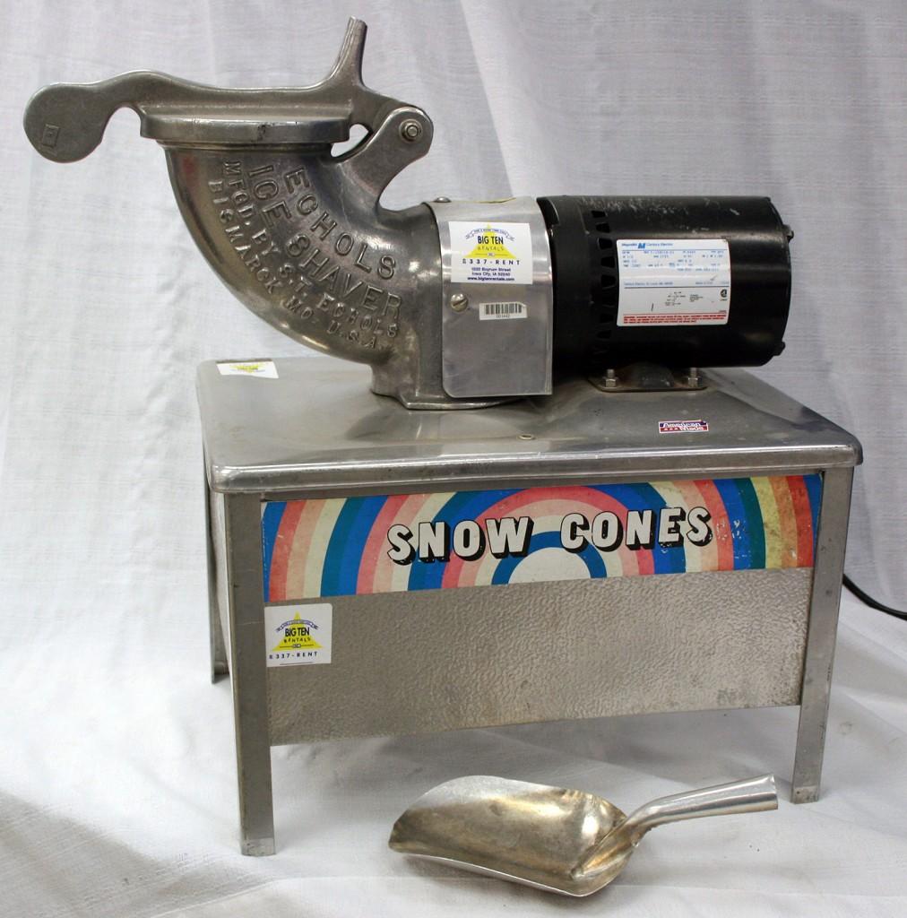 Our economy Sno Kone?Ice Shaver machine.